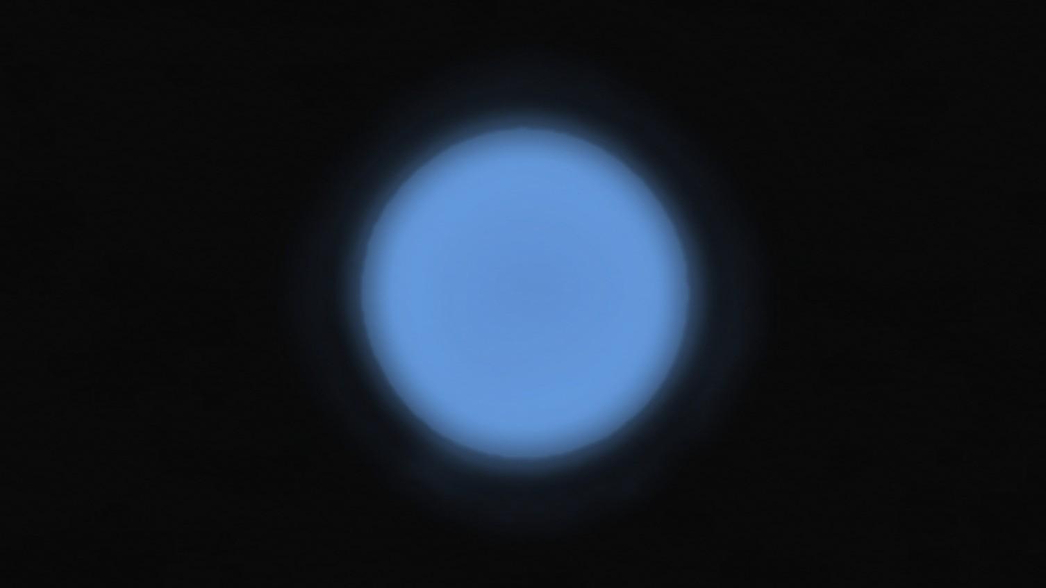 海王星のイメージ図