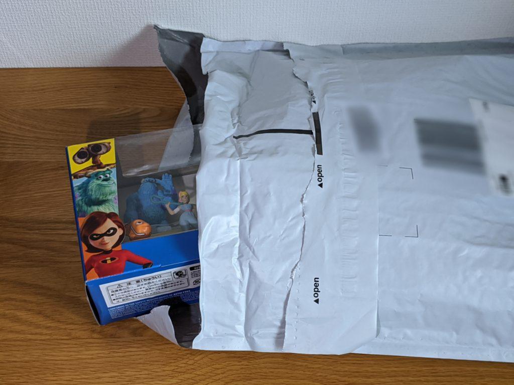 ディズニー/ピクサー マイクロコレクション ミニフィギュア 9パックセット 梱包