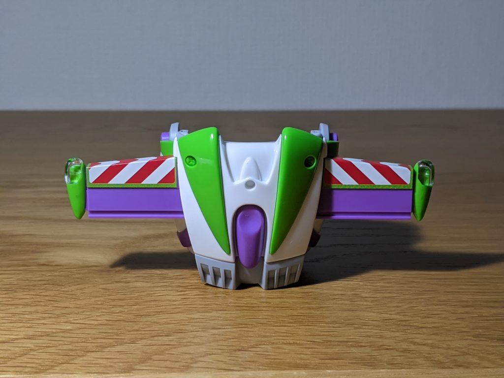 バンダイ スピリッツ バズ・ライトイヤー 胸のスイッチを押して翼を展開